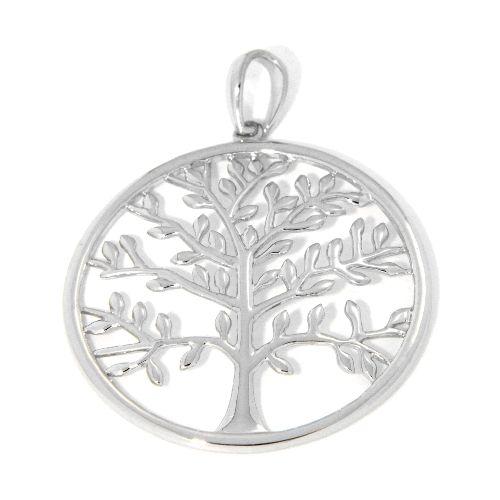 Anhänger Silber 925 rhodiniert Lebensbaum