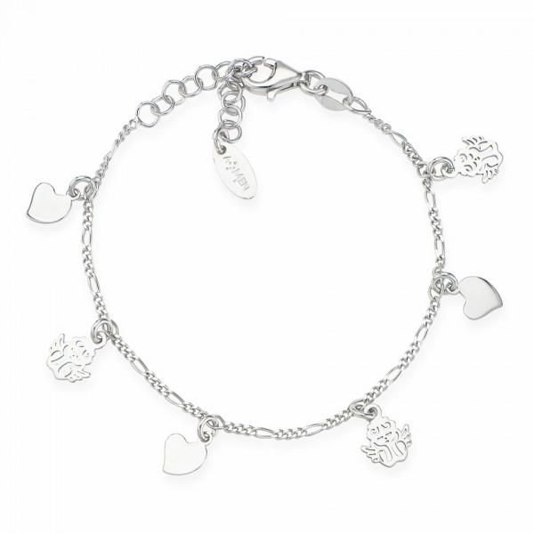 AMEN Armband 14 + 3 cm Silber BBACU