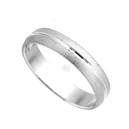 Freundschaftsring Silber 925 Breite 4 mm Weite 63