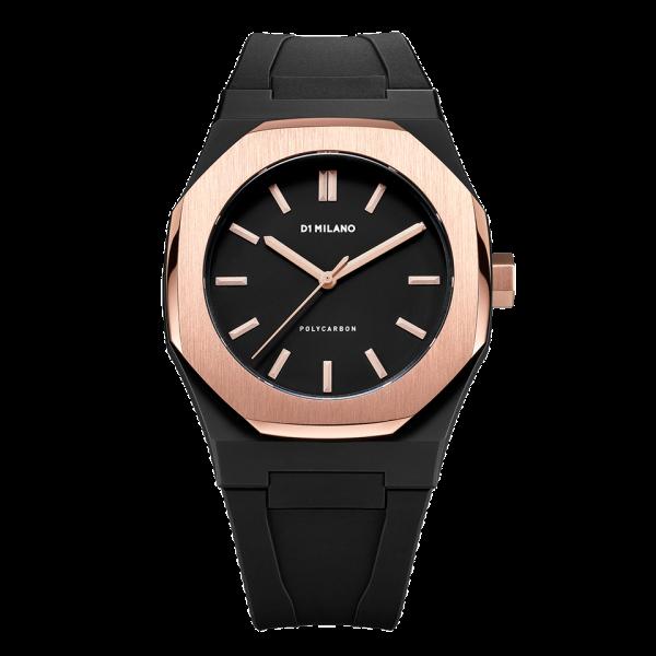 D1 Milano Armbanduhr Polycarbon Quarz PCRJ05