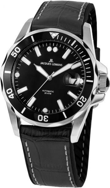 Jacques Lemans Herren-Armbanduhr Liverpool Diver Automatik 1-2089A