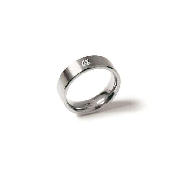 Boccia Titanium Ring 0101-1263 Größe 63