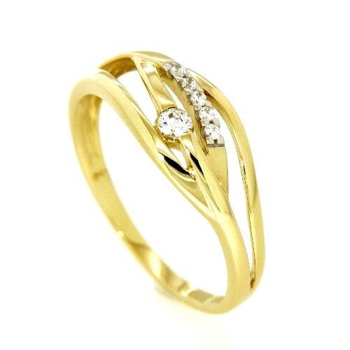 Ring Gold 333 Weite 62 Zirkonia