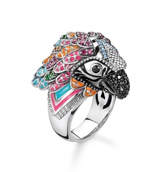 Thomas Sabo Ring Größe 48 TR2227-340-7-48