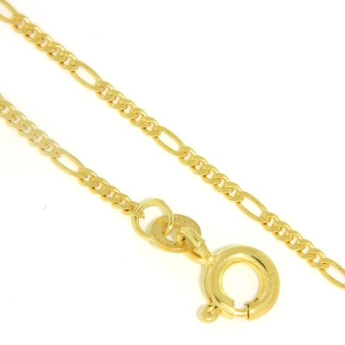 Figarokette (FP40) Gold 333 Länge 50 cm