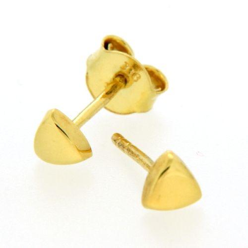Ohrstecker Gold 333 Dreieck