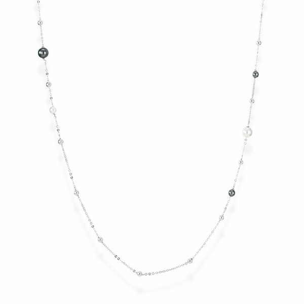 AMEN Kette 90 + 2 cm Silber CL1PB