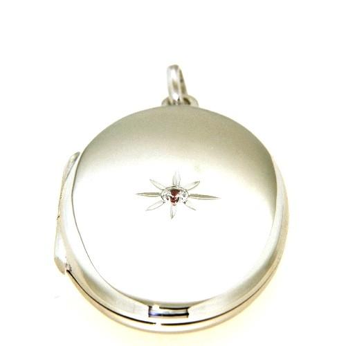 Medaillon Silber 925 rhodiniert