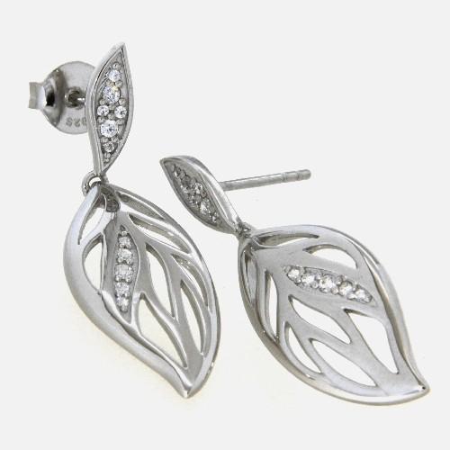 Ohrpendel Silber 925 rhodiniert (Stecker)