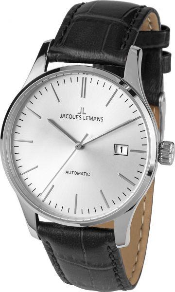 Jacques Lemans Herren-Armbanduhr London Automatic 1-2073