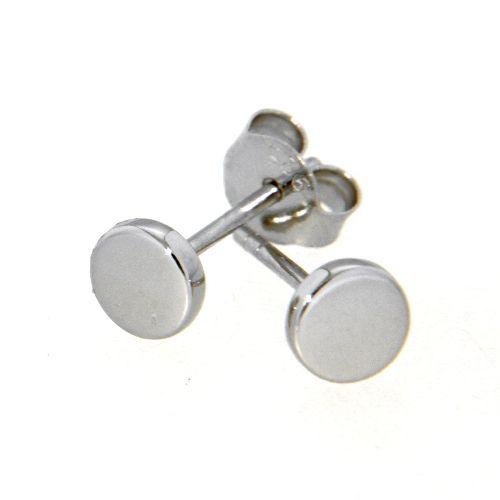 Ohrstecker Silber 925 rhodiniert 5mm