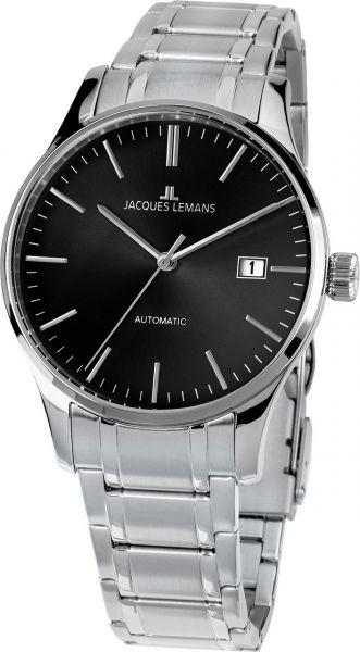 Jacques Lemans Herren-Armbanduhr London Automatic 1-2073G