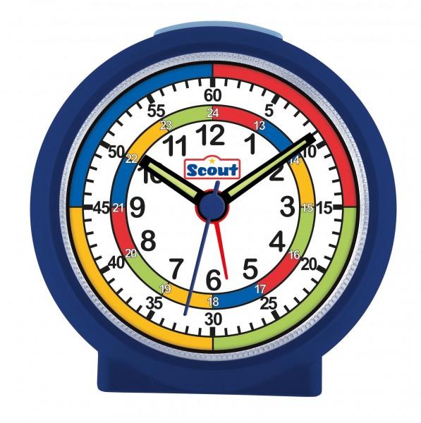 SCOUT Wecker blau LearnTheTime 280001010