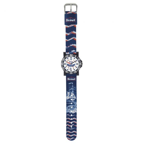 SCOUT Armbanduhr blau 280375012