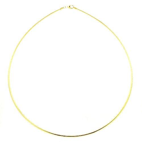 Omega Halsreifen Gold 333 1,5mm 50 cm