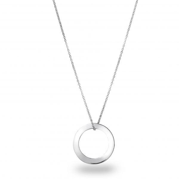 Beka&Bell Family Kette 1 Ring silber 42-45 cm mit Gravur