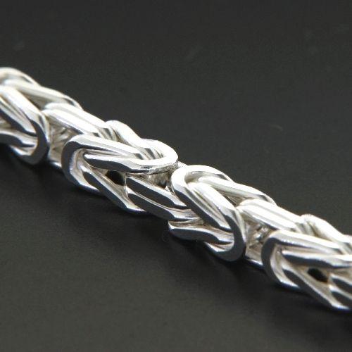Königskette (KK100) Silber 925 60 cm