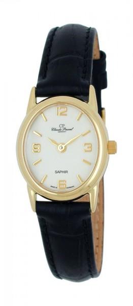 Claude Pascal Armbanduhr Damen Gold 585 194289 WA