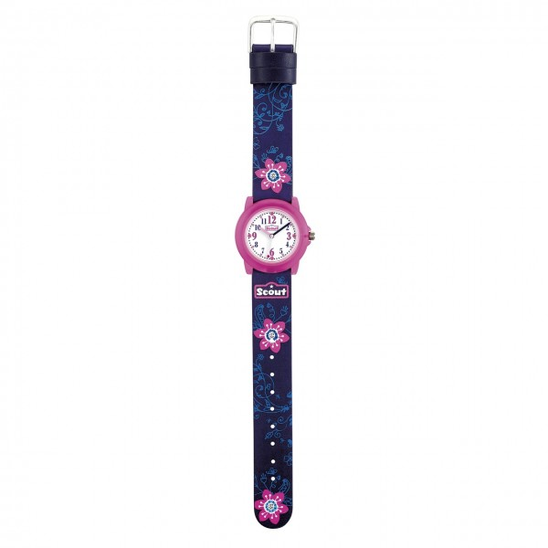 SCOUT Armbanduhr blau, pink Crystal 280305028