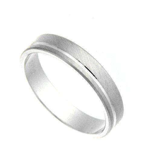 Freundschaftsring Silber 925 Breite 4 mm Weite 58