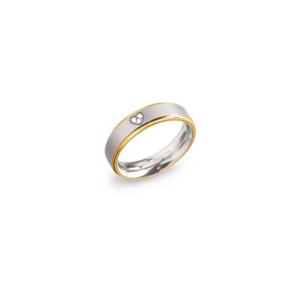 Boccia Titanium Ring 0134-0648 Größe 48