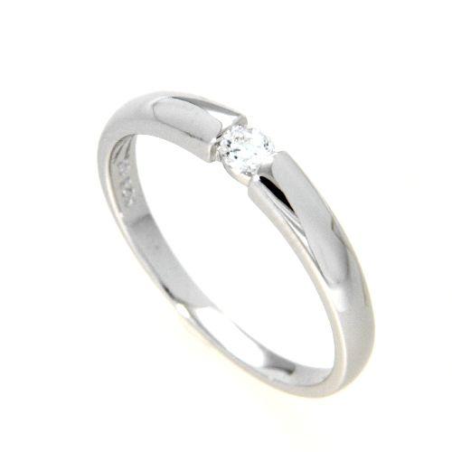 Ring Silber 925 rhodiniert Weite 48