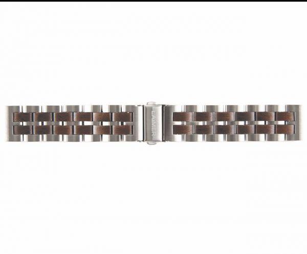 LAiMER Uhrband Leadholz 20 mm UB87