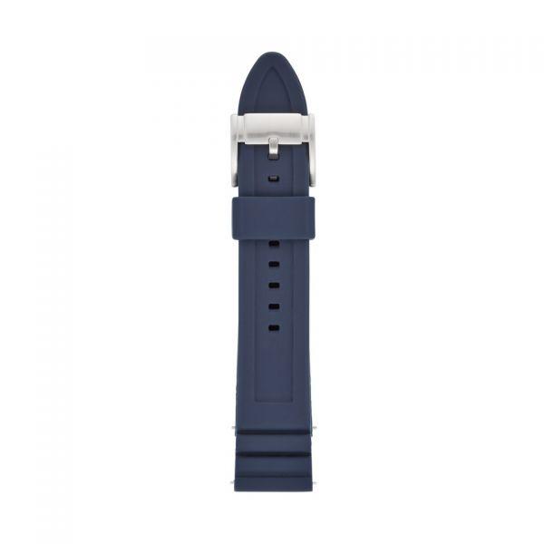 FOSSIL Uhrarmband Silikon blau S221302