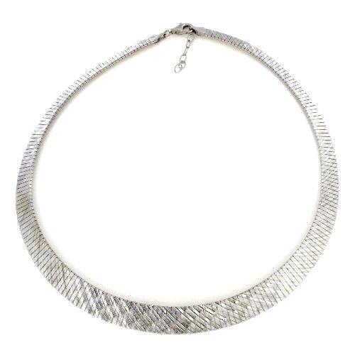 Collier Silber 925 rhodiniert 43+3 cm