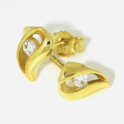 Ohrstecker Gold 333
