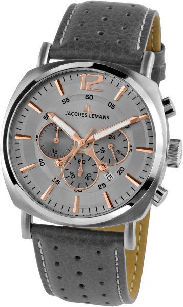 Jacques Lemans Herren-Armbanduhr Lugano 1-1645.1L