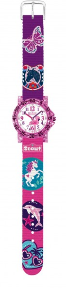 SCOUT Armbanduhr pink The IT-Collection 280375017