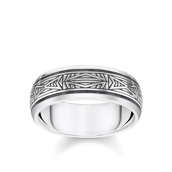 Thomas Sabo Ring Ornamente Größe 68 TR2277-637-21-68