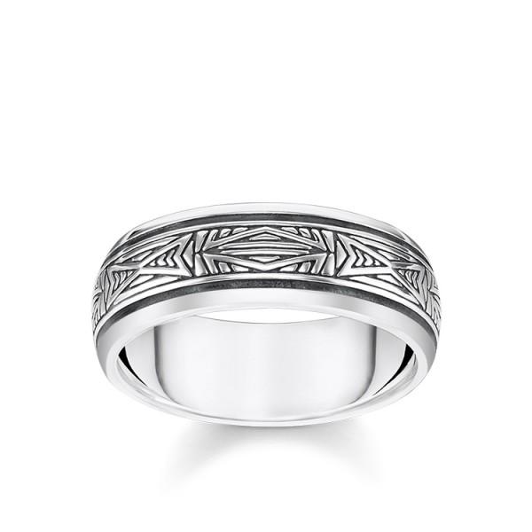 Thomas Sabo Ring Ornamente Größe 48 TR2277-637-21-48