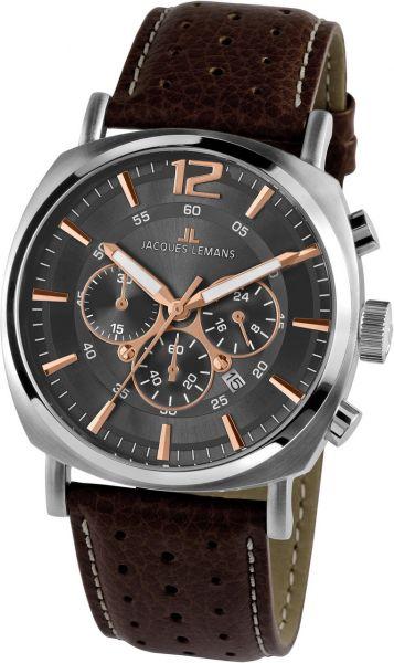 Jacques Lemans Herren-Armbanduhr Lugano 1-1645.1H