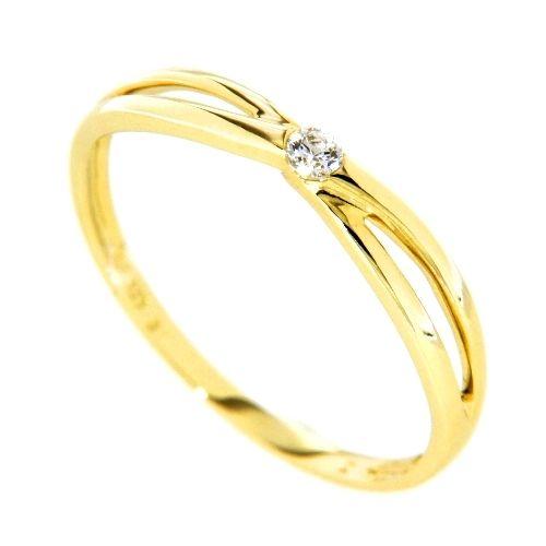 Ring Gold 333 Zirkonia Weite 55