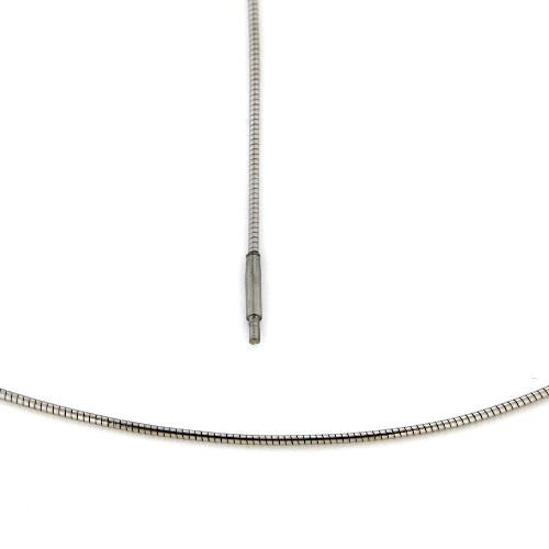 Omega Halsreifen Edelstahl 1,2 mm 42 cm