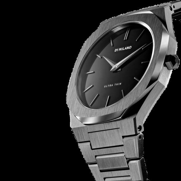D1 Milano Armbanduhr Ultra Thin Quarz UTB02