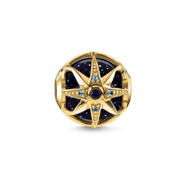 Thomas Sabo Karma Bead Royalty Stern blau K0309-963-1