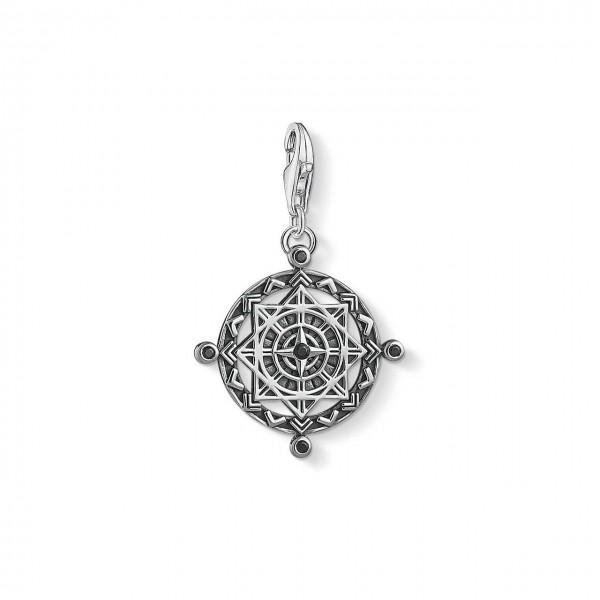 Thomas Sabo Charm-Anhänger Coin Vintage Kompass 1712-643-11