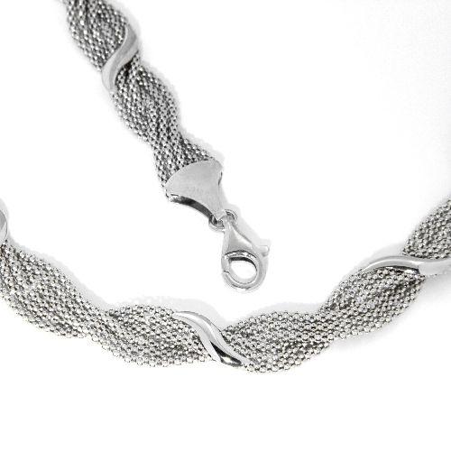Kette Silber 925 rhodiniert