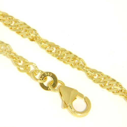 Singapurarmband (S50) Gold 333 19 cm