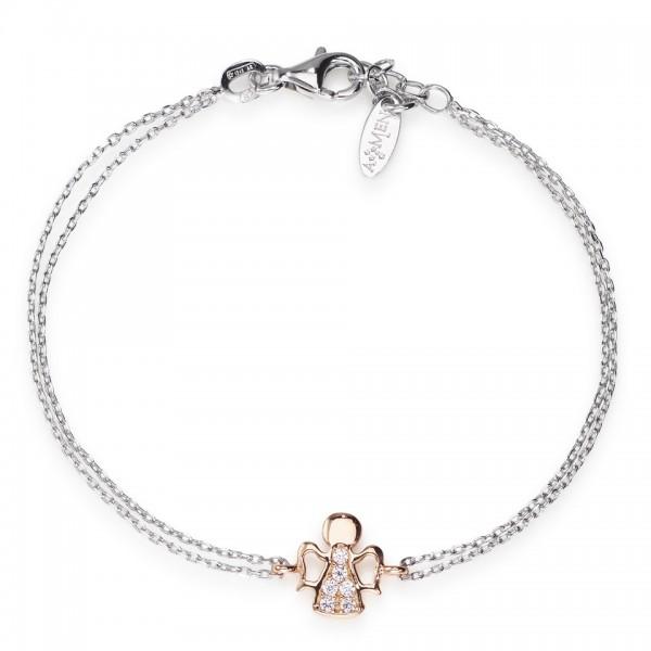 AMEN Armband 16 + 2 cm Silber BR2ABR