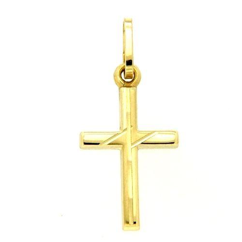 Kreuzanhänger Gold 333