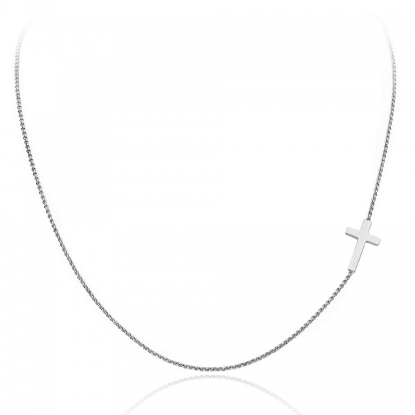 AMEN Kette 40 + 4 cm Silber CLCB3