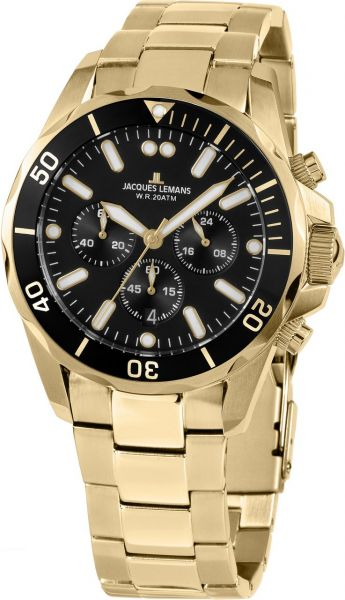 Jacques Lemans Herren-Armbanduhr Liverpool 1-2091J