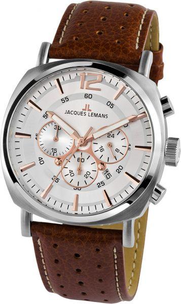Jacques Lemans Herren-Armbanduhr Lugano 1-1645.1D