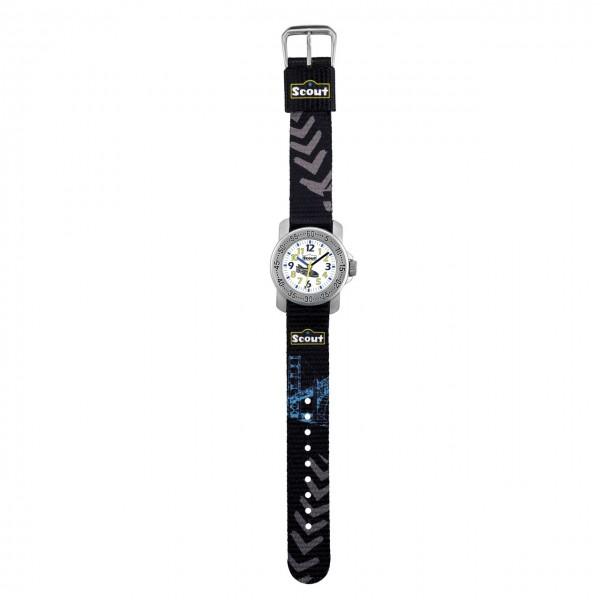 SCOUT Armbanduhr schwarz, blau, grau 280376005