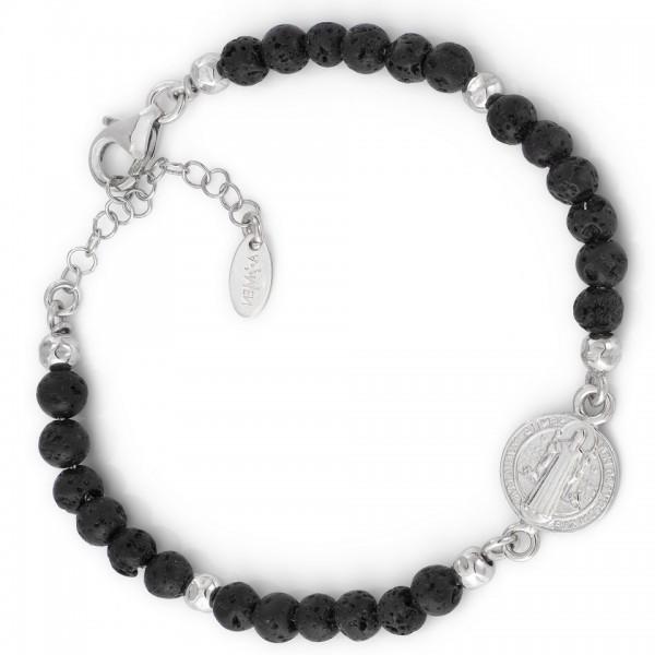 AMEN Armband 19 + 3 cm Silber SBM2