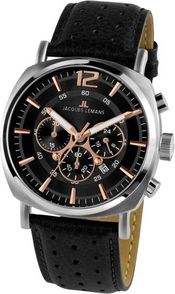 Jacques Lemans Herren-Armbanduhr Lugano 1-1645.1J